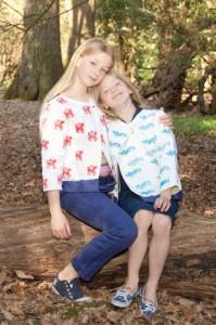 Swing Jackets hug in a wood