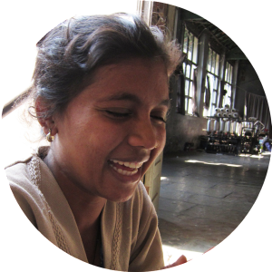 Daksha the Spinner communicates with us across the supply chain. Where Does It Come From? wheredoesitcomefrom.co.uk