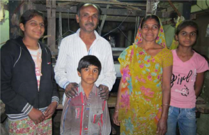Jignesh the weaver and his family communicating with us across the supply chain.  Where Does It Come From? wheredoesitcomefrom.co.uk