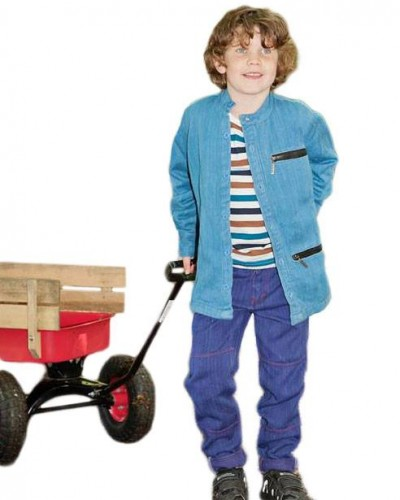 zippy jacket with cart