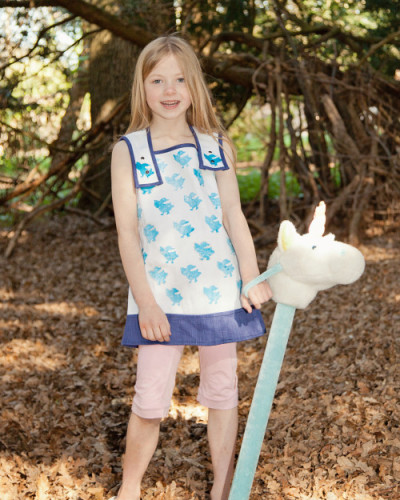 Printed Tunic Top from Where Does It Come From? Ethical Children's Clothes