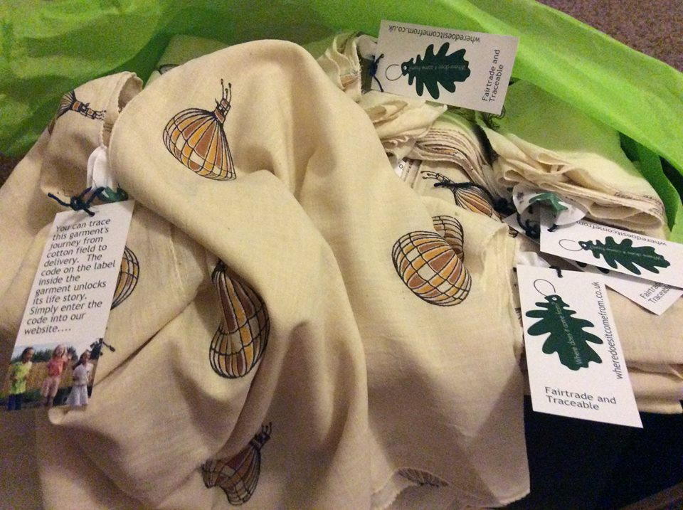 Where Does It Come From? ethical clothing working with business