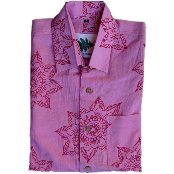 Pink Preeti Shirt from Where Does It Come From? wheredoesitcomefrom.co.uk ethical fashion