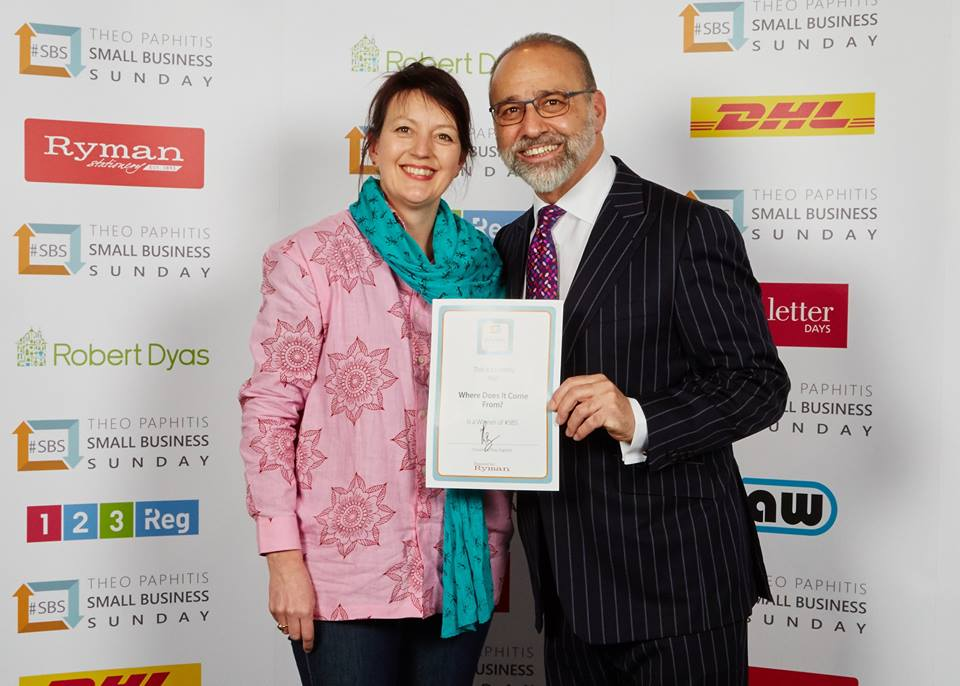 theo paphitis Jo Salter Where Does It Come From? ethical business