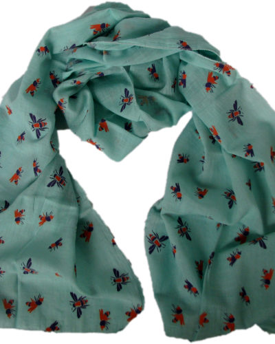 bee scarf from Where Does It Come From? ethical traceable fairtrade wheredoesitcomefrom.co.uk