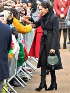 meghan markle ethical fashion daily mail