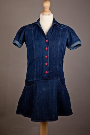 Denim Dress for Girls from Where Does It Come From? wheredoesitcomefrom.co.uk