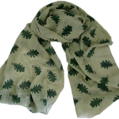leaf print scarf from Where Does It Come From?