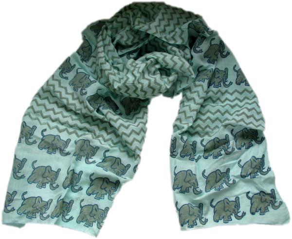 ethical elephant scarf as worn by Joanna Lumley