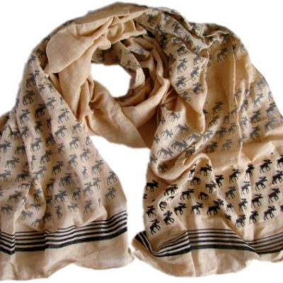 Moose Print Scarf from Where Does It Come From?