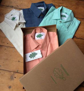 organic pink shirt from Where Does It Come From? ethical clothes and traceable too sustainable clothing production