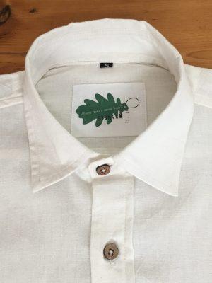 organic white shirt