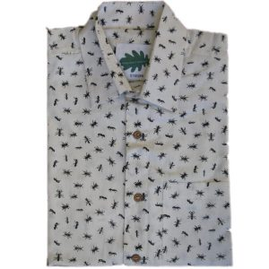organic ant shirt from Where Does It Come From? ethical traceable fairtrade