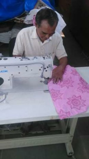 organic preeti flower shirt from Where Does It Come From? ethical clothes fairtrade traceable