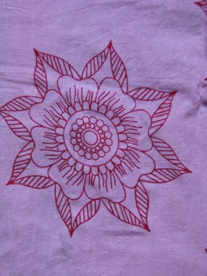 organic Preeti flower shirt from Where Does It Come From? ethical clothing traceable fairtrade