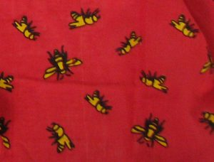 Red Bee Scarf