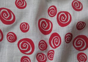 Red Rose Scarf from Where Does It Come From? www.wheredoesitcomefrom.co.uk