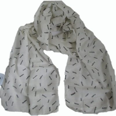 MIndfulness Scarf - Serenity Scarf from Where Does It Come From? wheredoesitcomefrom.co.uk