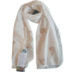gold butterfly scarf from Where Does It Come From? Arya Candles
