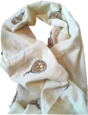 hot air balloon scarf