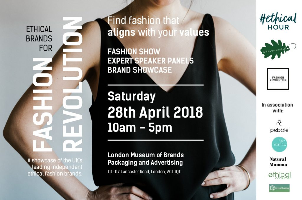 Ethical Brands for Fashion Revolution April 2018