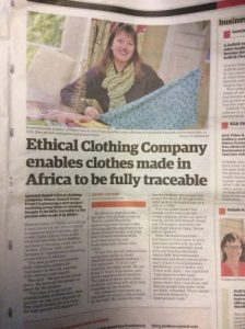 Ethical clothes from africa