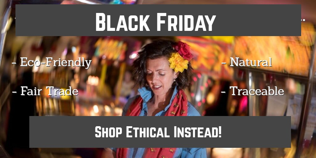 black friday shop ethical instead