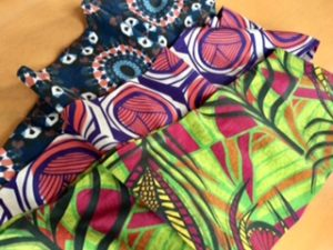 african infinity tube scarf
