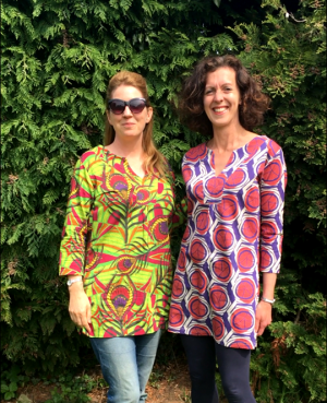 african tunics and scarves