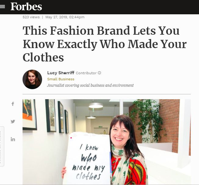 Where Does It Come From! in Forbes