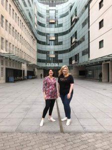 Talking ethical fashion on bbc radio five live