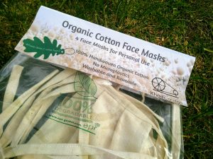 organic cotton face masks