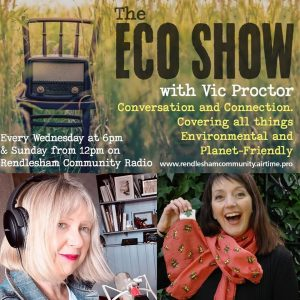 Jo, founder of Where Does It Come From? is interviewed on the Eco Show
